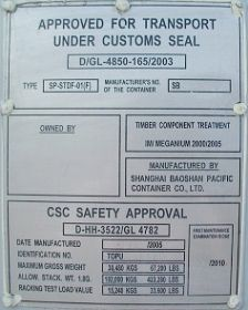 CSC safety approval