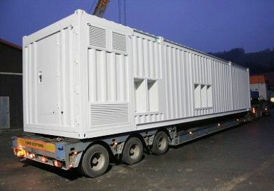 Transport d'un container maritime sur mesure