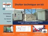Télécharger le flyer Shelter technique en kit
